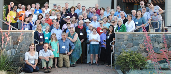 Members of the Ranch board, Acorn Society, Ranch staff and friends at the 2014 Acorn Society Annual Forum.